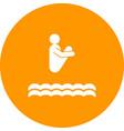 diving ii vector image