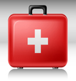 First aid box vector image
