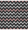 Chalkboard style seamless chevron pattern vector image