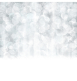 Silver abstract Christmas winter vector image