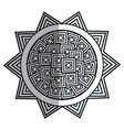 mandala art isolated icon vector image