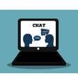 Graphic of Chat design editable vector image