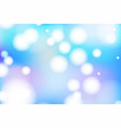 vivid bokeh in soft color background vector image