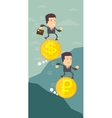 The currency exchange dollar ruble icon vector image