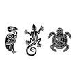 indian design elements vector image