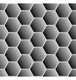 Hexagons pattern vector image vector image