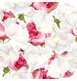 rose tulip seamless pattern vector image