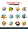 under construction building developer website vector image