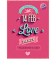 Love party vector image vector image