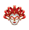 venice mask isolated vector image