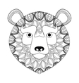tribal lion icon vector image