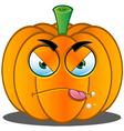 Pumpkin Face 6 vector image vector image