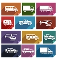 Transport flat icon-03 vector image vector image
