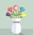 Wedding flowers vector image vector image