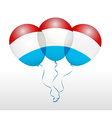 Balloons in as National Flag vector image