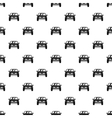 Machine pattern simple style vector image