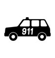 the car service is 911 vector image