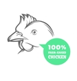 Chicken Farm vector image