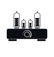 Tube Amplifier Icon vector image