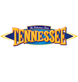 Tennessee The Volunteer State vector image