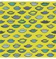 Kiss pattern vector image