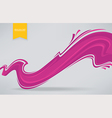 pink fabric vector image