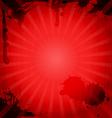 Vintage red background vector image