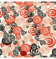 colorful seamless pattern with circle vector image