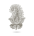 Beautiful Indian floral ornament for your business vector image