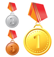 medal vector image vector image