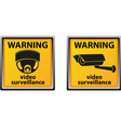 video surveillance camera 05 vector image vector image