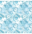Seamless exotic ocean pattern vector image