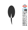 seed root icon with free bonus vector image