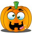Pumpkin Face 9 vector image