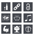 Icons for Web Design set 48 vector image