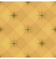 Seamless pattern stars and checkered vector image