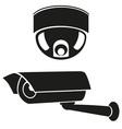 video surveillance camera 06 vector image