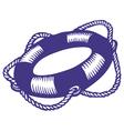 Lifebuoy ink vector image
