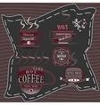 Logo coffee chocolate vector image