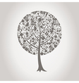 Tree wedding vector image vector image