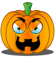 Pumpkin Face 11 vector image vector image