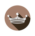 Royal design element regal icon Stylish majestic vector image