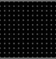 white tiny circle on black background vector image