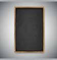 Menu chalkboard on white background vector image vector image