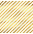 Geometric golden stripes seamless pattern vector image