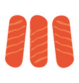 group of sausages vector image