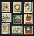 coffee brand vector image vector image