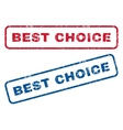 Best Choice Rubber Stamps vector image vector image