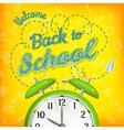 Welcome back to school EPS 10 vector image