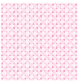 Pink seamless pattern background vector image vector image